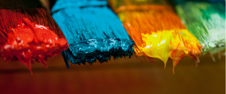Slide - Paint Brushes