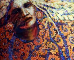 Featured Artist - Acrylic Cora Marshall