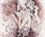 Featured Artist Kelly McKernan - Entropy