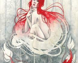 Featured Artist Kelly McKernan - Panacea
