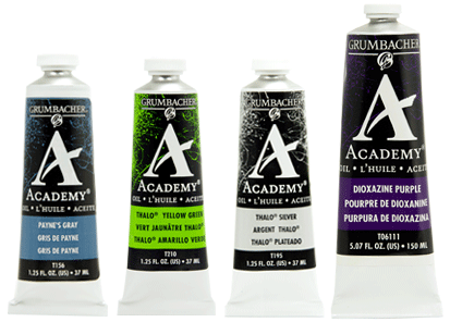 Academy Oil Grumbacher Art