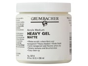 Acrylic Heavy Matte Gel, 8 oz