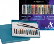 Academy Watercolor Sketchbox 12 Set