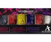 6 Academy Acrylics, Mixing Set