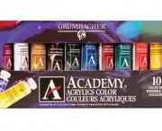 10 Academy Acrylics Set