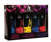 5 Academy Acrylics, Mixing Set