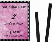 Square Vine Charcoal, 2 pk