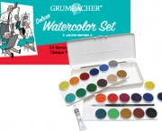 24 Opaque Watercolor Pans, LE Set