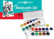 Limited Edition Watercolor Pan Set - 24 Opaque Colors