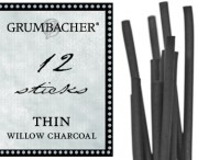 Willow Charcoal Thin 12 Pack