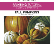 Autumn Color Reflections Acrylic Painting Tutorial by Richard Nowak.